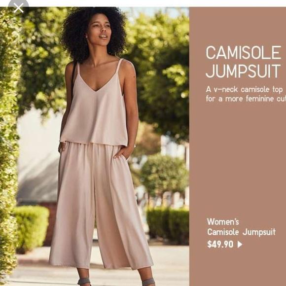 b5ad21b84976 UNIQLO Women s Camisole Jumpsuit